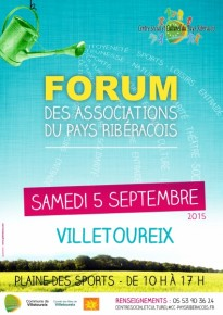affiche forum des associations 2015