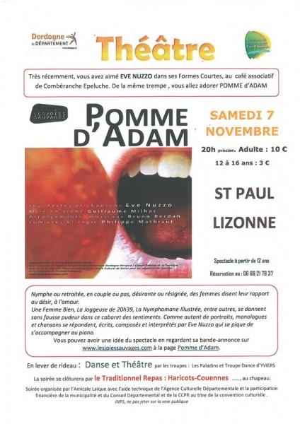 Théâtre Pomme d'Adam