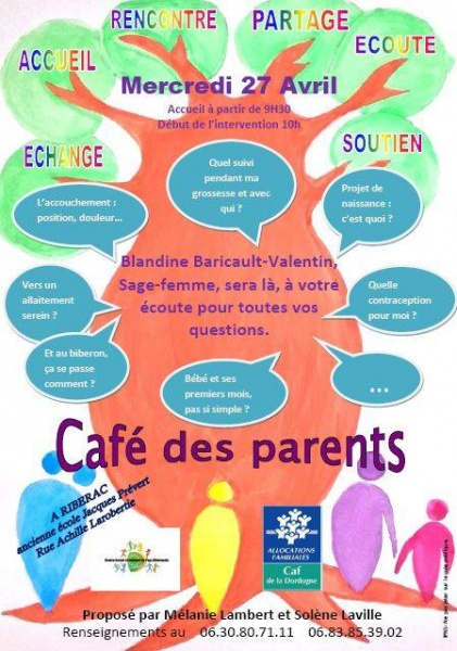Café des parents du 27 avril 2016
