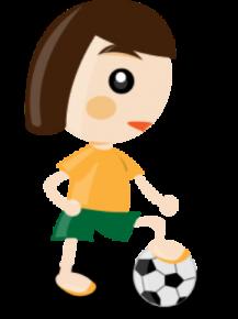 Filles qui au foot
